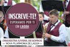 Estão Abertas as inscrições para a Orquestra Juvenil de Sopros em Lagoa