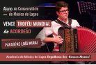 Aluno do Conservatório de Música de Lagoa vence Troféu Mundial de Acordeão, parabéns Luís Mira!